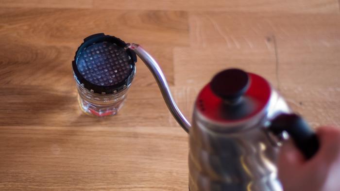 Craft Coffee Aeropress Brew Guide - Step 2