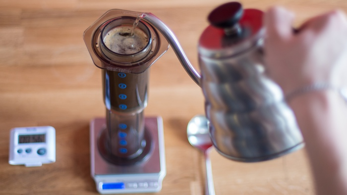 Craft Coffee Aeropress Brew Guide - Step 6