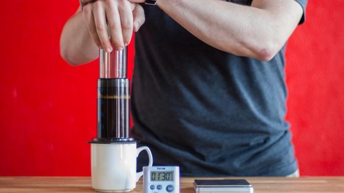 Craft Coffee Aeropress Brew Guide - Step 9