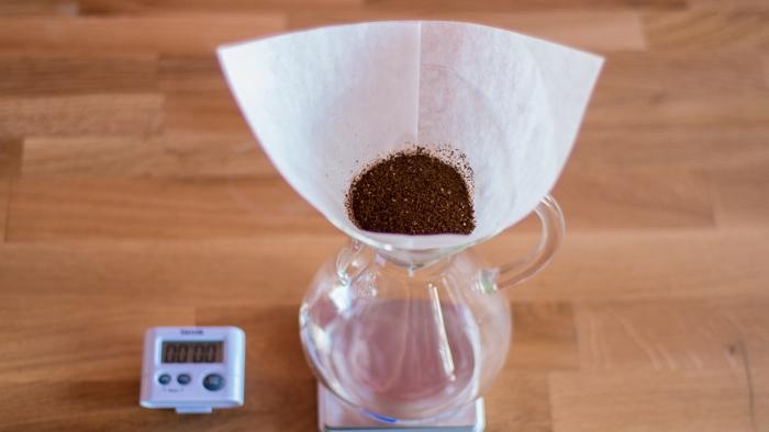 Craft Coffee Chemex Brew Guide - Step 5