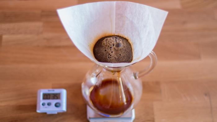 Craft Coffee Chemex Brew Guide - Step 6