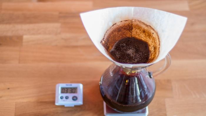 Craft Coffee Chemex Brew Guide - Step 8