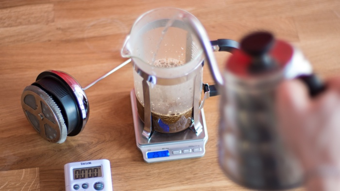 Craft Coffee French Press Brew Guide - Step 5