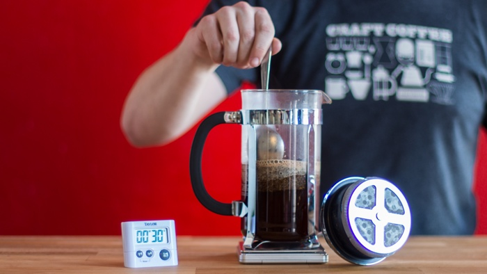 Craft Coffee French Press Brew Guide - Step 6