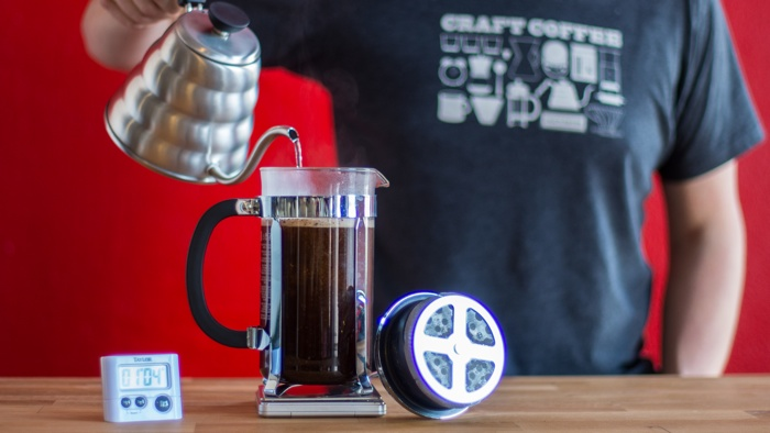 Craft Coffee French Press Brew Guide - Step 7