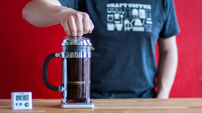 Craft Coffee French Press Brew Guide - Step 8
