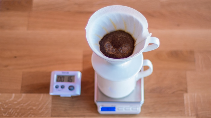 Craft Coffee Hario V60 Brew Guide - Step 6