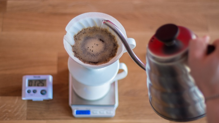 Craft Coffee Hario V60 Brew Guide - Step 7