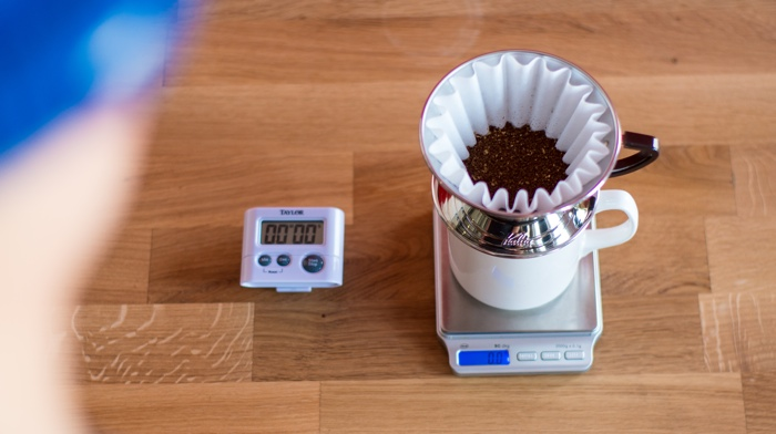 Craft Coffee Kalita Wave Brew Guide - Step 4