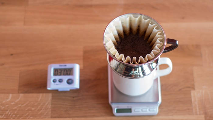 Craft Coffee Kalita Wave Brew Guide - Step 8